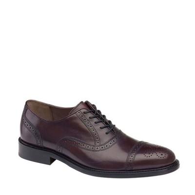 ジョンストンアンドマーフィー メンズ ドレスシューズ シューズ Men's Daley Leather Cap Oxford