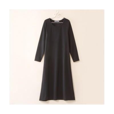 【大きいサイズ】 裏シャギーロングワンピース ワンピース, plus size dress