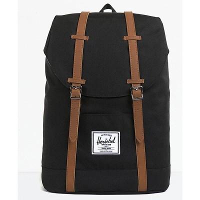 ハーシェル サプライ HERSCHEL SUPPLY メンズ バックパック・リュック バッグ Herschel Supply Co. Retreat Black Backpack Black