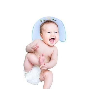 ベビー 枕 赤ちゃん 枕 新生児 通気性良好 低反発枕 絶壁頭矯正 頭の形を守る 3?24ヶ月のベビーにおすすめ 男女兼用