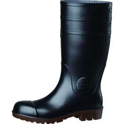 ミドリ安全 耐油・耐薬 安全長靴 ワークエース NW1000スーパー ブラック 25.0CM(品番:NW1000SP-BK-25.0)『1252285』
