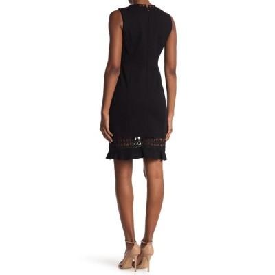 エリータハリ レディース ワンピース トップス Clarrisa Lattice Inset Dress BLACK