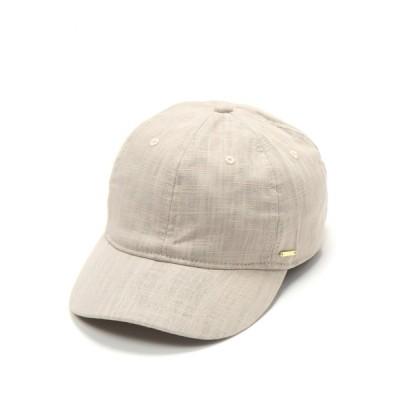 LAKOLE / コットンリネンキャップ / 885439 WOMEN 帽子 > キャップ