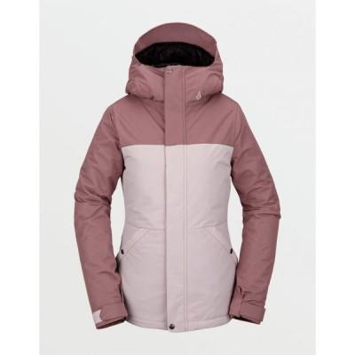 ボルコム VOLCOM レディース スキー・スノーボード ジャケット アウター Bolt Insulated Pink Snow Jacket PINK COMBO