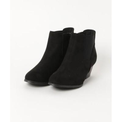 Parade ワシントン靴店 / 【ショートブーツ】デザインカットサイドゴアショートブーツ 6295 WOMEN シューズ > ブーツ