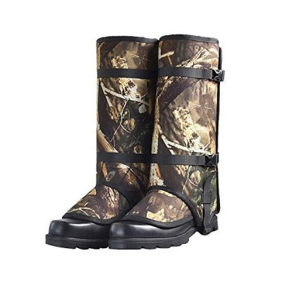 DETECH Snake Guard Chaps Leg Gaiter Against Snake Bites Camouflage Hunting Gear with Full Protection for Legs