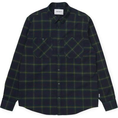 カーハート Carhartt WIP メンズ シャツ トップス Carhartt Darren Shirt Darren/Check/Bottle/Green
