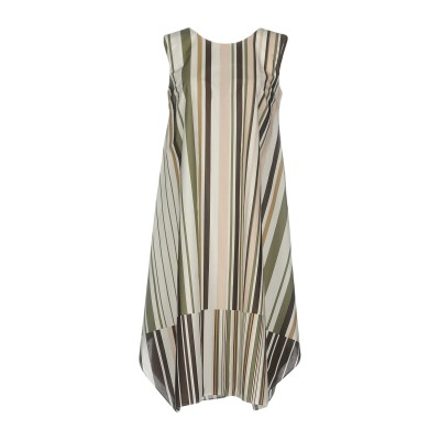 カリバン CALIBAN ミニワンピース&ドレス パステルピンク 42 コットン 100% ミニワンピース&ドレス