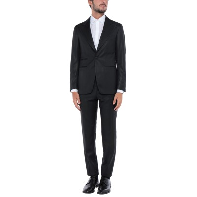 ガブリエレ パジーニ GABRIELE PASINI スーツ ブラック 48 ウール 100% / シルク / レーヨン スーツ