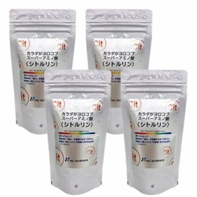 シトルリン 100g 4袋 ニューサイエンス アミノ酸