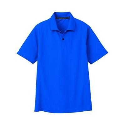 コーコス信岡 半袖ポロシャツ/AS-1647 ブルー/4L