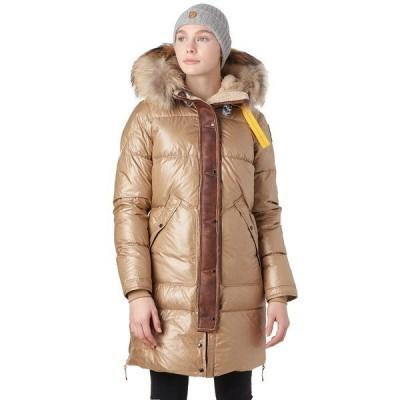 パラジャンパーズ ジャケット&ブルゾン レディース アウター Long Bear Special Down Jacket - Women's Cappucino