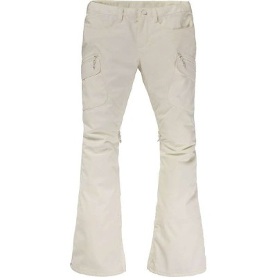 バートン Burton レディース スキー・スノーボード ボトムス・パンツ Gloria Pant Stout White
