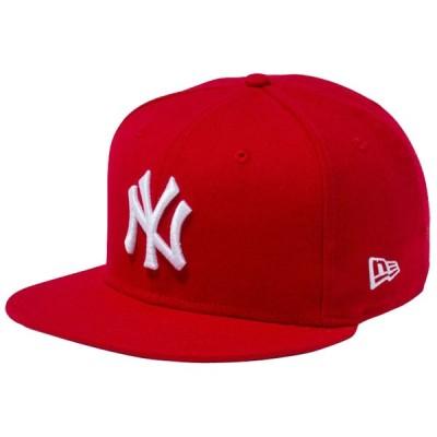 ニューエラ 950 スナップバック キャップ ニューヨークヤンキース カスタム スカーレット スノーホワイト New Era 9Fifty Cap