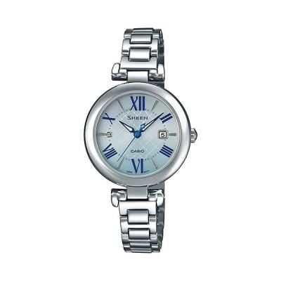 【正規品】カシオ CASIO シーン ソーラーサファイアモデル SHS-4502D-2AJF ライトブルー文字盤 新品 腕時計 レディース