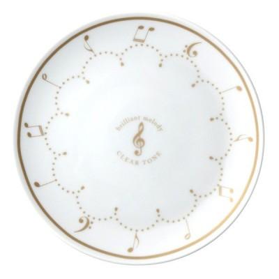 プレート 16cm Clear Tone 洋食器 磁器製 日本製 ( 皿 食器 器 お皿 電子レンジ対応 食洗機対応 )