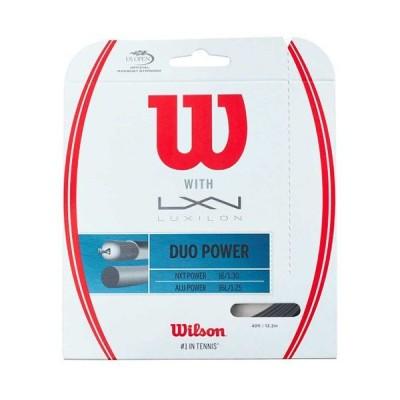 ウィルソン Wilson DUO POWER テニス 硬式ガット  WRZ949710