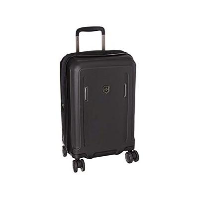 Victorinox Werks Traveler 6.0 Hardside Spinner Luggage, Black, Carry-On, Fr