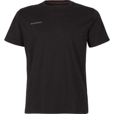 マムート Mammut メンズ Tシャツ トップス Seile T-Shirt Black Prt