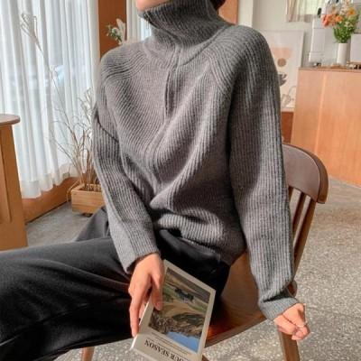 ENVYLOOK レディース ニット/セーター Way Zip Up Knit