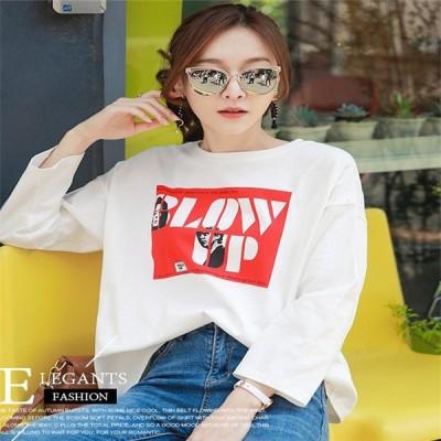 Tシャツ レディース トップス 長袖 大きいサイズ カットソー ファッション 2020 トレンド 秋冬 おしゃれ hlsd005