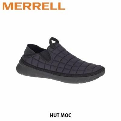 送料無料 メレル MERRELL レディース モックシューズ ハット モック トリプル ブラック HUT MOC TRIPLE BLACK 女性用 アウトドア 90802 M