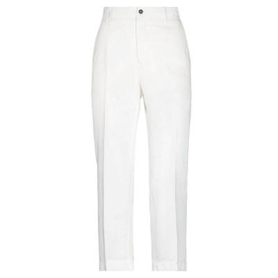 インコテックス INCOTEX パンツ ホワイト 42 コットン 79% / リネン 21% パンツ