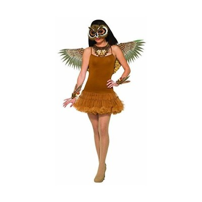 Forum Novelties Women's Non-Feathered Owl Wings, As Shown, One Size[並行輸入品]