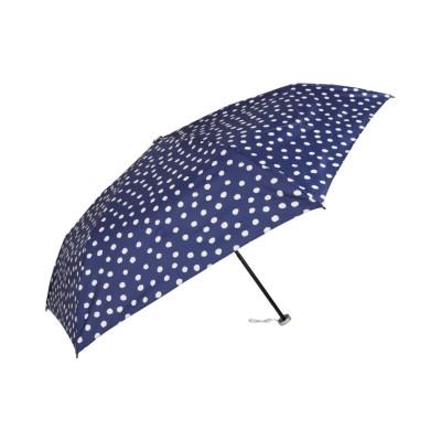 (urawaza/ウラワザ)urawaza ウラワザ 折りたたみ傘 メンズ レディース 軽量 晴雨兼用 折り畳み UVカット ブラック ブルー 黒 31-230-10106-02/ユニセックス ブルー