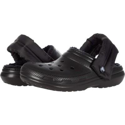 クロックス Crocs レディース クロッグ シューズ・靴 Classic Lined Neo Puff Clog Black/Black