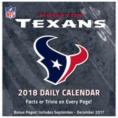 John F. Turner ジョン エフ ターナー スポーツ用品  Houston Texans 2018 Box Calendar