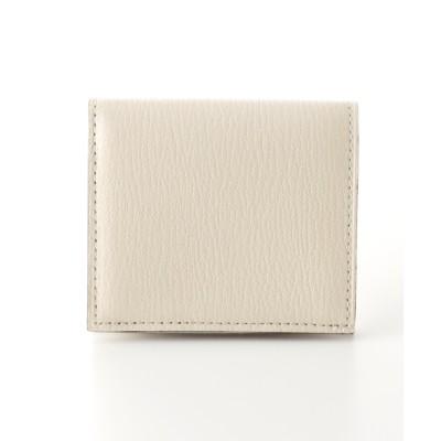 [革小物]ラルコバレーノ 二つ折り財布 401 ホワイト ナシ