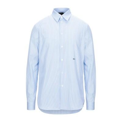ヌメロ ヴェントゥーノ N°21 シャツ スカイブルー XS コットン 100% シャツ