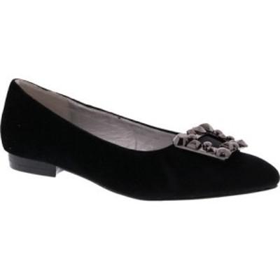 ベリーニ Bellini レディース スリッポン・フラット シューズ・靴 Fairy Dress Flat Black Velvet