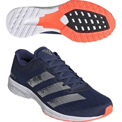 アディダス Adidas adizero RC 2 シューズ 27.5cm テックインディゴ/シルバーメタリック/ダッシュグレー