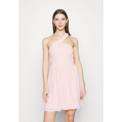 ヴィラ レディース ワンピース トップス VIKATELYN ONESHOULDER  DRESS - Cocktail dress / Party dress - rose smoke rose smoke