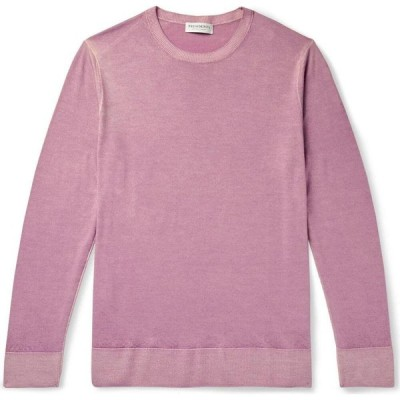 プレジデンツ PRESIDENT'S メンズ ニット・セーター トップス Sweater Mauve