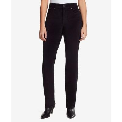 バンドリーノ デニムパンツ ボトムス レディース Women's Mandie Corduroy Average Length Jeans Black