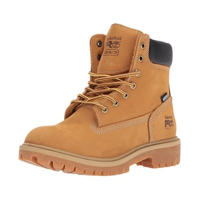 """Timberland PRO Women's Direct Attach 6"""" Steel Toe Waterproof Insulated Industrial & Construction Shoe, Wheat Nubuck Leather, 8 M US【並行輸入品"""