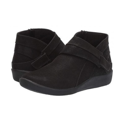 Clarks クラークス レディース 女性用 シューズ 靴 ブーツ アンクルブーツ ショート Sillian Rani - Black Synthetic
