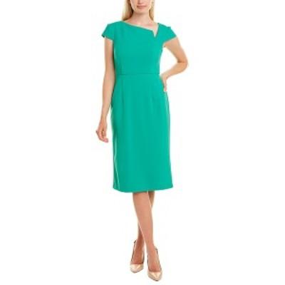 ドナモーガン レディース ワンピース トップス Donna Morgan Sheath Dress bright jade