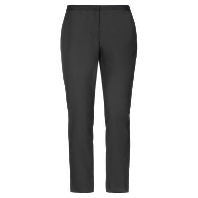 セミクチュール SEMICOUTURE パンツ ブラック 42 ポリエステル 64% / レーヨン 34% / ポリウレタン 2% パンツ