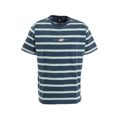 ニューバランス(new balance) Tシャツ メンズ アスレチックスプレップストライプショートスリーブ Tシャツ MT01514SNB オンライン価格 (メンズ)