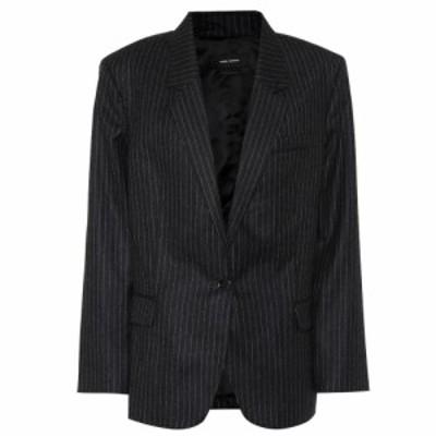 イザベル マラン Isabel Marant レディース スーツ・ジャケット アウター Melinda pinstripe wool blazer Anthracite