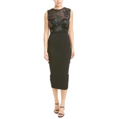 イシュー レディース ワンピース トップス issue New York Midi Dress black