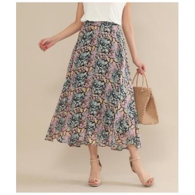 Settimissimo / スプリングフラワーフレアスカート WOMEN スカート > スカート