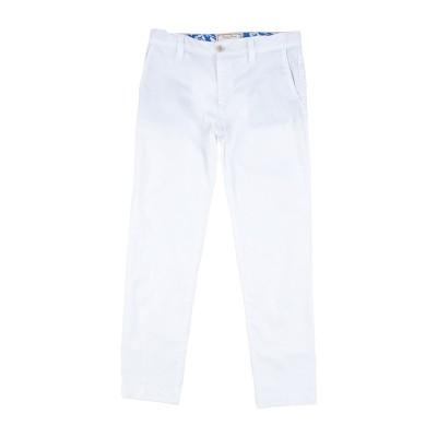 MYTHS パンツ ホワイト 10 コットン 97% / ポリウレタン 3% パンツ