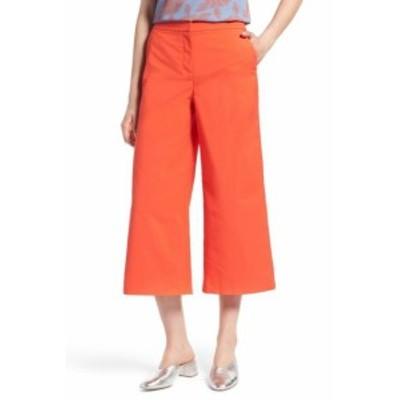 ファッション パンツ Halogen Womens Orange Size 12P Petite Capris Cropped Stretch Pants