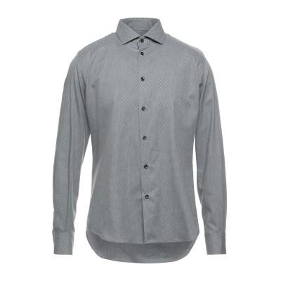 HAVANA & CO. シャツ グレー 40 コットン 100% シャツ