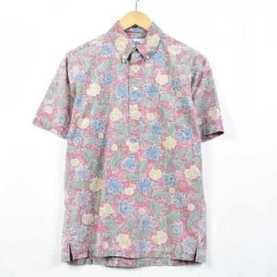 90年代 レインスプーナー ハワイアンアロハシャツ S /eaa030218